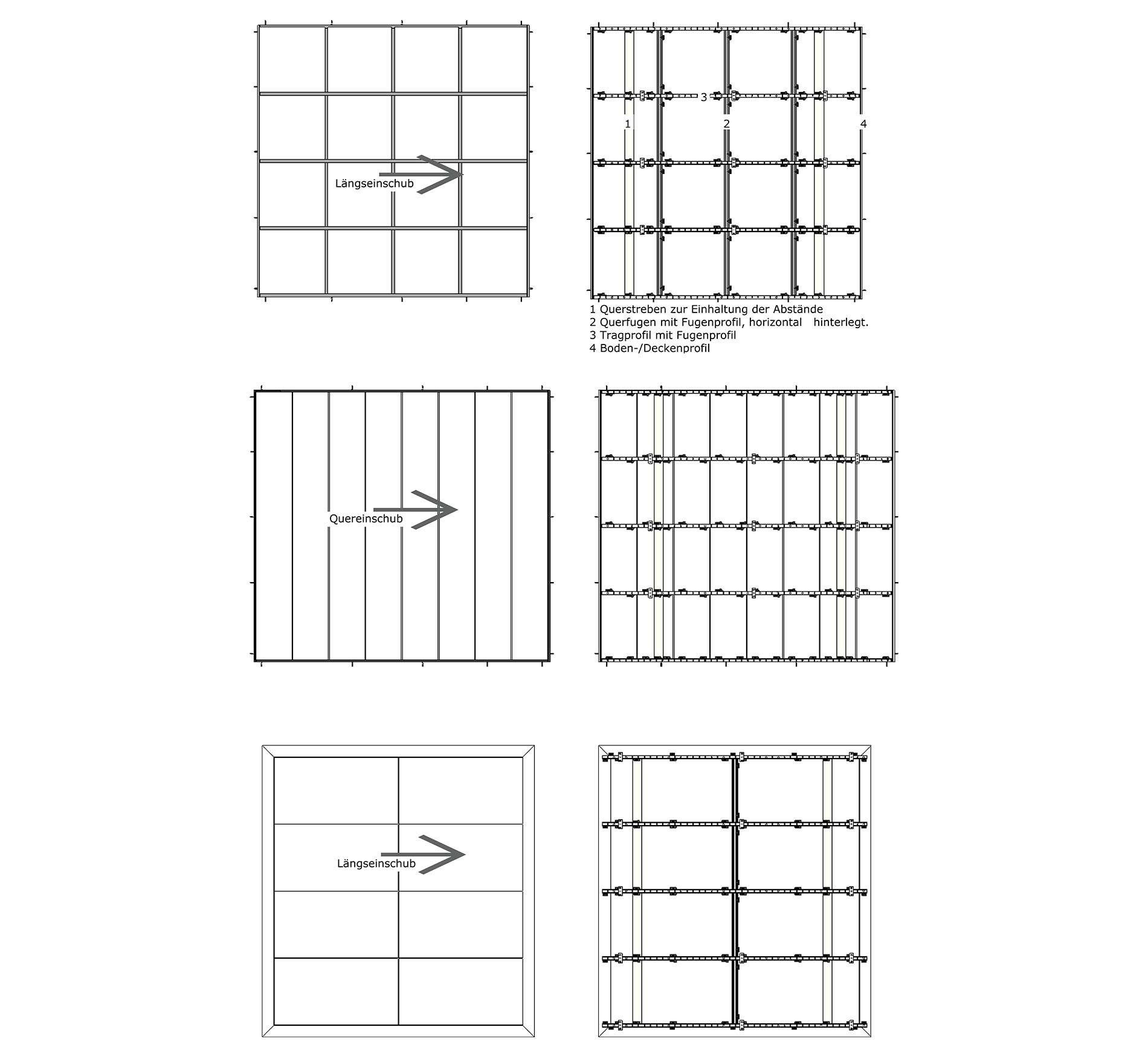 Praktische Einsatzlösungen: Decke