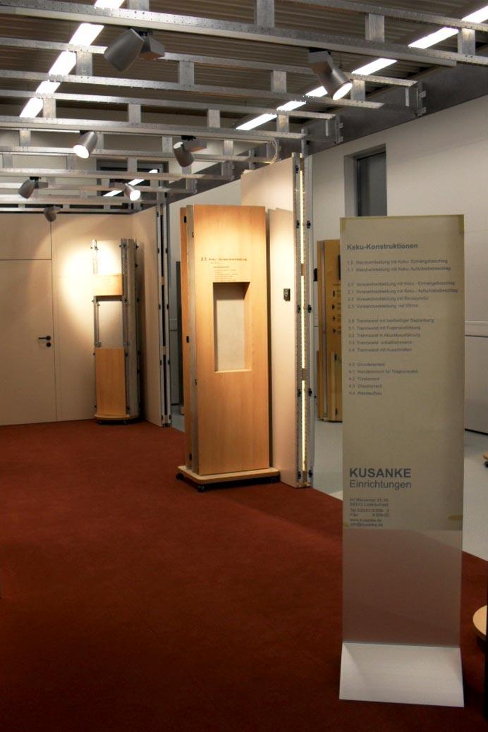 Kusanke Schauraum für Beschläge in Lüdenscheid