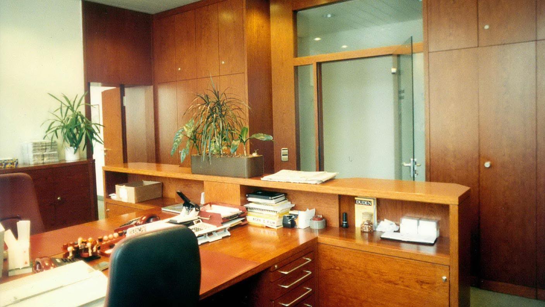 Büroausbau, Möbelbau
